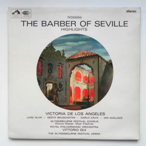 Rossini THE BARBER OF SEVILLE Highlights / Royal Philharmonic Orchestra conducted by Vittorio Gui --  LP 33 giri - Made in UK