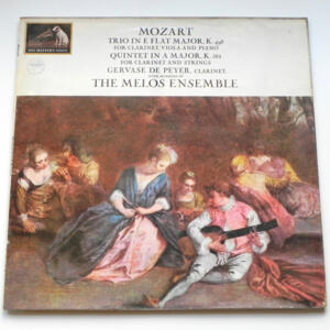 Mozart Clarinet Trio & Quintet / Gervase de Peyer with members of the Melos Ensemble --  LP 33 giri - Made in UK
