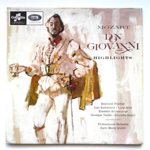 Mozart DON GIOVANNI Highlights / Philharmonia Orchestra  conducted by C.M. Giulini  --  LP 33 giri - Made in UK