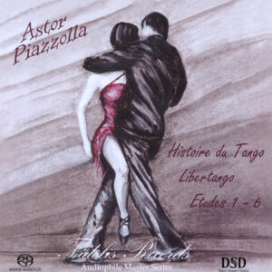 Astor Piazzolla - Histoire Du Tango  --  SACD Stereo Ibrido Made in USA