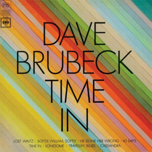Dave Brubeck - Time In  --  LP 33 giri 180 gr. Made in USA e stampato in Germani