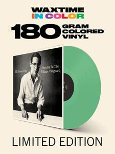 Sunday At The Village Vanguard - Bill Evans Trio  --  LP 33 giri 180 gr.  VINILE COLORATO VERDE - Edizione limitata da collezione