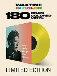 Lady sings the blues - Billie Holiday  --  LP 33 giri 180 gr.  VINILE COLORATO GIALLO - Edizione limitata da collezione