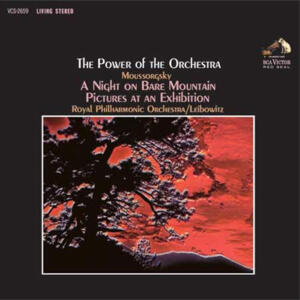 The Power Of The Orchestra - Royal Philharmonic Orchestra Rene Leibowitz, conductor   --  DISPONIBILE DA GIOVEDI' 13 DICEMBRE - LP 33 giri 200 gr. Made in USA