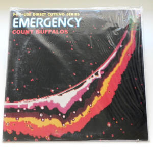 Emergency / Count Buffalos  --  LP 33 giri  - Made in Japan - SIGILLATO