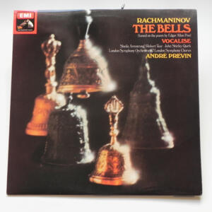 Rachmaninov THE BELLS / London Symphony Orchestra conducted by Previn  & London Symphony Chorus  --  LP 33 giri  - Made in UK