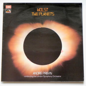 Holst THE PLANETS  / The London Symphony Orchestra conducted by A. Previn  --  LP 33 giri - Made in UK