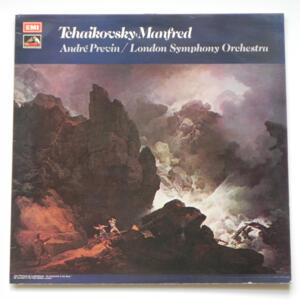 Tchaikovsky MANFRED / London Symphony Orchestra conducted by André Previn  --  LP 33 giri Made in UK