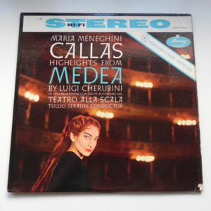 MEDEA by Luigi Cherubini / Maria Callas / Teatro alla Scala / Conductor Tullio Serafin --  LP 33 giri  -  Made in USA