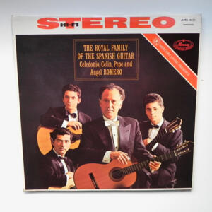 The Royal Family of the Spanish Guitar / Caledonio - Celin - Pepe - Angel Romero --  LP 33 giri  -  Made in EU