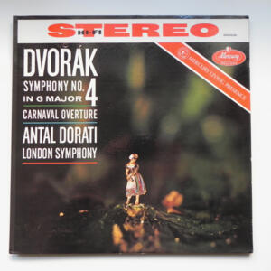 Dvorak - SYMPHONY NO. 4 IN G MAJOR CARVANAL OVERTURE -  London Symphony conducted by A. Dorati  --  LP 33 giri  -  Made in USA