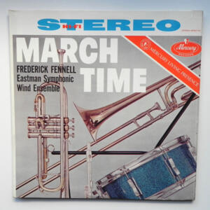 March Time / Eastman Symphonic Wind Ensemble conducted by Frederick Fennell  --  LP 33 giri  -  Made in USA