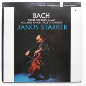 Bach - SUITES  FOR SOLO CELLO / Janos Starker  --  LP 33 giri  -  Made in USA