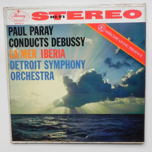Debussy - LA MER - IBERIA / Detroit Symphony Orchestra conducted by Paul Paray --  LP 33 giri  -  Made in USA