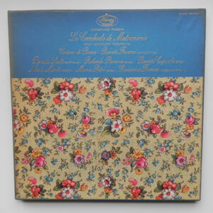 G. Rossini -  LA CAMBIALE DI MATRIMONIO / I Virtuosi di Roma  conducted by Renato Fasano  --  Doppio LP 33 giri  -  Made in USA