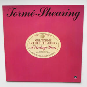A Vintage Year / Mel Tormé - George Shearing  --  LP 33 rpm  - Made in Germany