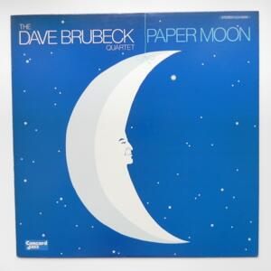 Paper Moon / The Dave Brubeck Quartet  --  LP 33 giri - Made in Japan - CONCORD JAZZ - LCJ-2035 - LP APERTO