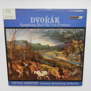 Dvorak - Symphony No.2 / London Symphony Orchestra conducted by I. Kertesz  -- LP 33 giri - Made in UK/USA