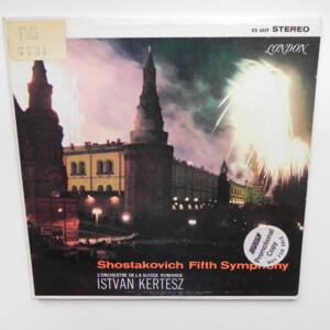Shostakovich Fifth Symphony / L' Orchestre de la Suisse Romande conducted by I. Kertesz  -- LP 33 giri - Made in  UK/USA