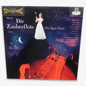 Mozart - THE ZAUBERFLOTE (THE MAGIC FLUTE) HIGHLIGHTS /  Vienna Philharmonic Orchestra conducted by Karl Bohm -- LP 33 giri - Made in  UK/USA