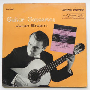 Guitar Concertos / Julian Bream   --  LP 33 giri - Made in USA