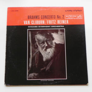 Brahms CONCERTO No. 2 / Van Cliburn / Chicago Symphony Orchestra conducted by Fritz Reiner --  LP 33 giri - Made in USA