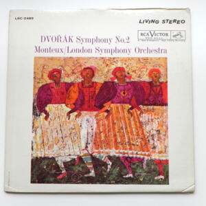 Dvorak Symphony No. 2 / London Symphony Orchestra conducted by Monteux -  LP 33 giri - Made in USA