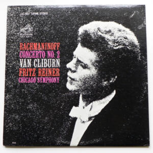 Rachmaninoff CONCERTO NO. 2 / Van Cliburn / Chicago  Symphony conducted by Fritz Reiner -  LP 33 giri - Made in USA