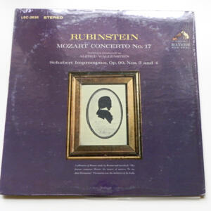 Mozart CONCERTO NO. 17 / Artur Rubinstein / Orchestra conducted by A. Wallenstein-  LP 33 giri - Made in USA