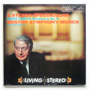 Saint-Saens SYMPHONY NO. 3 / Berj Zamkochian / Boston Symphony conducted by Munch --  LP 33 giri - Made in USA