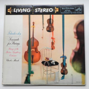 Tchaikovsky SERENADE FOR STRINGS / Strings of the Boston Symphony Orchestra conducted by Munch --  LP 33 giri - Made in USA