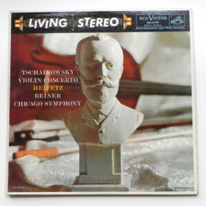 Tchaikovsky VIOLIN CONCERTO / Heifetz / Chicago Symphony conducted by Reiner --  LP 33 giri - Made in USA