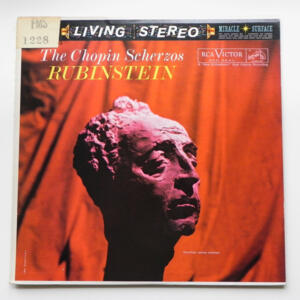 The Chopin Scherzos / Rubinstein --  LP 33 giri - Made in USA