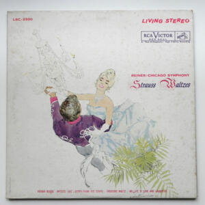 Strauss Waltzes / Chicago Symphony conducted by Reiner --  LP 33 giri - Made in USA