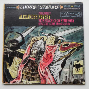 Prokofieff ALEXANDER NEVSKY / The Chicago Symphony Orchestra conducted by F. Reiner --  LP 33 giri  - Made in USA