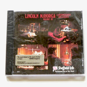 Lincoln Mayorga & Distinguished Colleagues Vol III / Lincoln Mayorga & Distinguished Colleagues  --  CD Made in USA - SIGILLATO - NOS