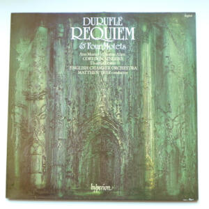 Duruflé REQUIEM & Four Motets / Corydon Singers / English Chamber Orchestra conducted by M. Best  --  LP 33 giri - Made in UK