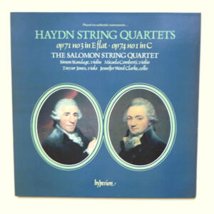 Haydn STRING QUARTETS / The Salomon String Quartet --  LP 33 giri - Made in UK
