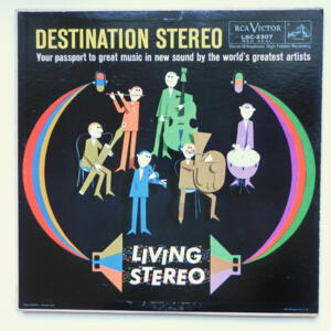 Destination Stereo / The world's greatest artists  --  LP 33 giri  - Made in USA