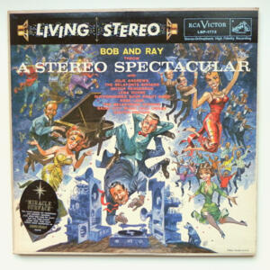 Bob and Ray  throw A stereo spectacular / Bob and Ray  --  LP 33 giri  - Made in USA