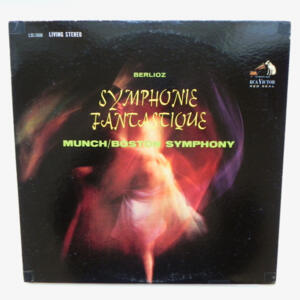 Berlioz SYMPHONIE FANTASTIQUE  / Boston Symphony Orchestra conducted by C. Munch --  LP 33 giri  - Made in USA