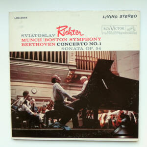 Beethoven CONCERTO NO. 1 / S. Richter / Boston Symphony conducted by Munch --  LP 33 giri  - Made in USA