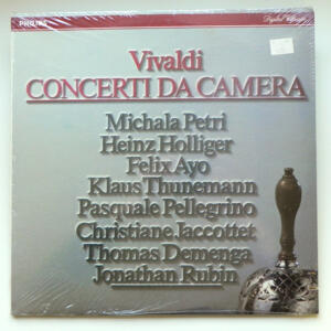 Vivaldi CONCERTI DA CAMERA / Vari artisti / Doppio LP 33 giri - Made in UK/USA - SIGILLATO