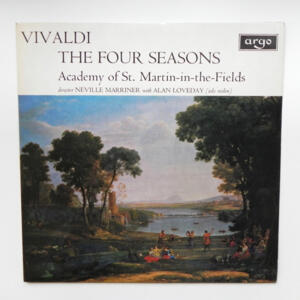 Vivaldi THE FOUR SEASONS / A. Loveday / Academy of St. Martin-in-the-Fields conducted by N. Marriner  -- LP 33 giri - Made in UK