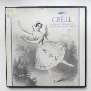 Adam GISELLE / The Monte Carlo Opera Orchestra conducted by Richard Bonynge  --  Boxset 2 LP 33 giri - Made in  UK/USA