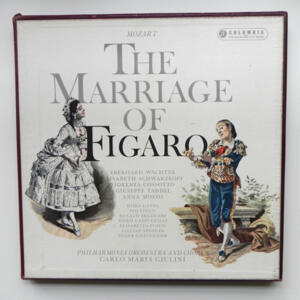 Mozart THE MARRIAGE OF FIGARO  / Philharmonia Orchestra and Chorus directed by Carlo Maria Giulini  --  Boxset 4 LP 33 giri - Made in UK