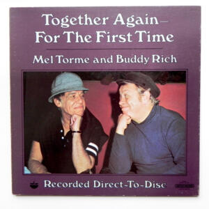 Together Again - For The First Time  / Mel Torme and Buddy Rich  --  LP 33 giri  - Made in Japan