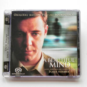A Beautiful Mind / Music composed and conducted by James Horner  --  SINGLE LAYER SACD - SACD a singolo strato  - Made in USA