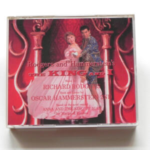 Rodgers and Hammerstein's THE KING AND I / Music by Richard Rodgers  --  Doppio CD  -  Made in Japan