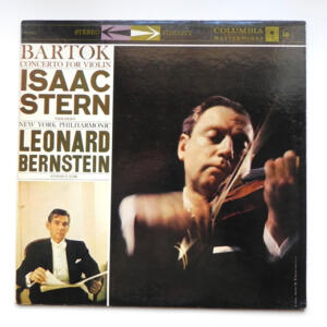 Bartok CONCERTO FOR VIOLIN / Isaac Stern / New York Philharmonic conducted by Leonard Bernstein --  LP 33 giri  -  Made in USA